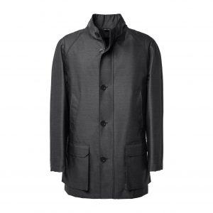 Pinstriped suit blue Drago fabric 130′ Super S – Sartoria di